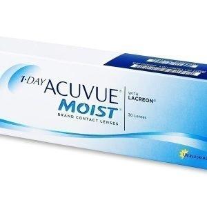 1 Day Acuvue Moist 30kpl Kertakäyttölinssit