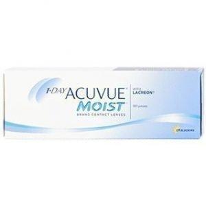 1-Day Acuvue Moist 30/pkt Piilolinssit