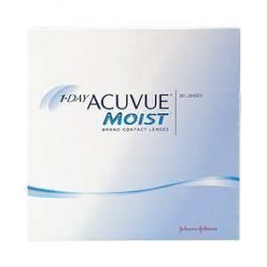 1-Day Acuvue Moist 90/pkt Piilolinssit