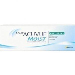 1-Day Acuvue Moist Multifocal 30/pkt Piilolinssit