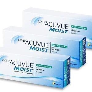 1 Day Acuvue Moist Multifocal 90 kpl Moniteholinssit