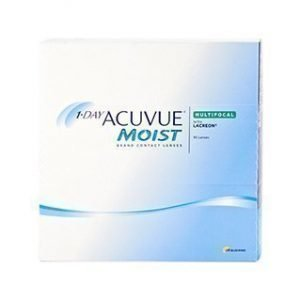 1-Day Acuvue Moist Multifocal 90/pkt Piilolinssit