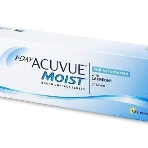 1 Day Acuvue Moist for Astigmatism 30 kpl Tooriset piilolinssit