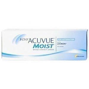 1-Day Acuvue Moist for Astigmatism 30/pkt Piilolinssit