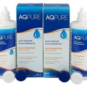 AQ Pure Piilolinssineste 2 x 360 ml