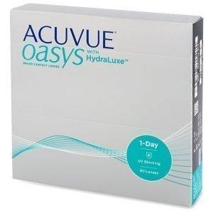 Acuvue Oasys 1-Day 90 kpl Kertakäyttölinssit