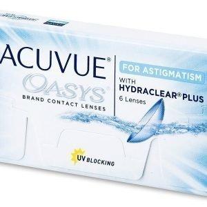 Acuvue Oasys for Astigmatism 6kpl Tooriset piilolinssit