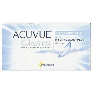 Acuvue Oasys for Astigmatism 6/pkt Piilolinssit