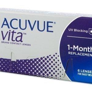 Acuvue Vita 6 kpl Kuukausilinssit