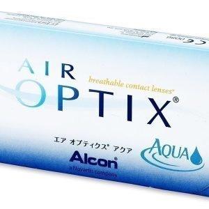Air Optix Aqua 3kpl Yötäpäivää piilolinssit