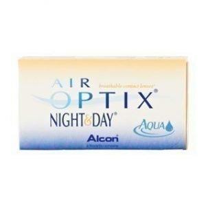 Air Optix Night & Day Aqua 6/pkt Piilolinssit