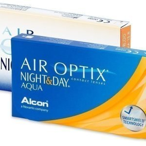Air Optix Night and Day Aqua 3 kpl Yötäpäivää piilolinssit