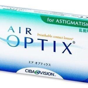 Air Optix for Astigmatism 3kpl Tooriset piilolinssit