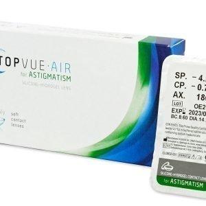 Air for Astigmatism 1kpl Tooriset piilolinssit
