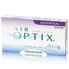 Alcon Air Optix Aqua Multifocal kuukausilinssit