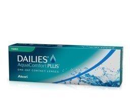 Alcon DAILIES AquaComfort Plus Toric kertakäyttölinssit 30 kpl