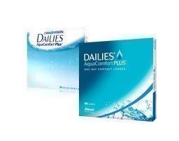 Alcon DAILIES AquaComfort Plus kertakäyttölinssit 90 kpl