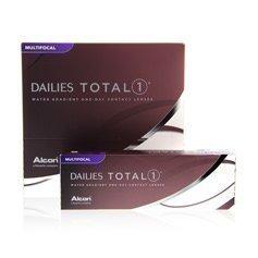Alcon Dailies Total1 Multifocal kertakäyttölinssit