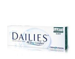Alcon Focus Dailies Toric kertakäyttölinssit 30 kpl