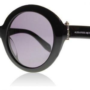 Alexander McQueen 0002S 001 Musta Aurinkolasit