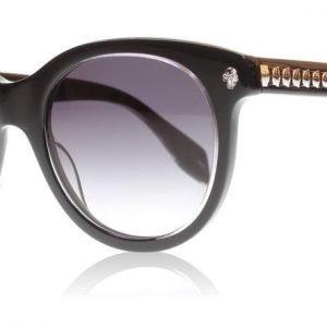 Alexander McQueen 0024S 001 musta Aurinkolasit