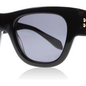 Alexander McQueen 0033S 1 Musta Aurinkolasit