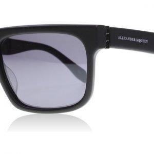 Alexander McQueen 0037S 001 Musta Aurinkolasit