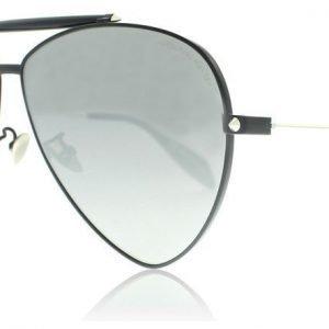 Alexander McQueen 0058S 001 Musta Aurinkolasit