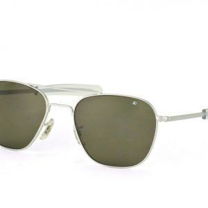American Optical AO 5257 Original Pilot Matte Chrome aurinkolasit