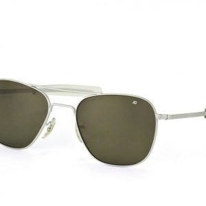 American Optical AO 5257 Original Pilot Polarized Matte Chrome aurinkolasit