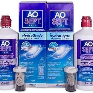 Ao Sept Plus HydraGlyde Piilolinssineste 2x360 ml