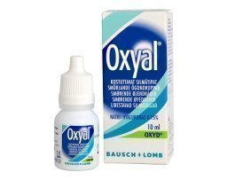 Bausch & Lomb Oxyal silmätipat 10 ml