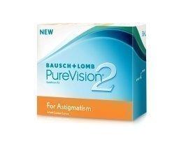 Bausch & Lomb PureVision 2 HD for Astigmatism kuukausilinssit 6 kpl