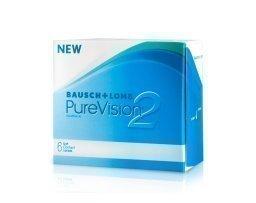 Bausch & Lomb PureVision 2 HD yötäpäivää-linssit 6 kpl