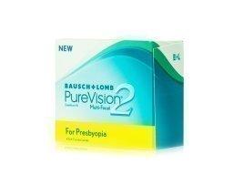 Bausch & Lomb PureVision 2 Multifocal yötäpäivää-linssit 6 kpl