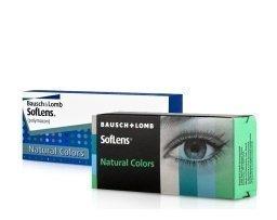Bausch & Lomb SofLens Natural Colors kuukausilinssit 2 kpl