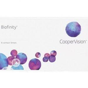 Biofinity 6/pkt Piilolinssit