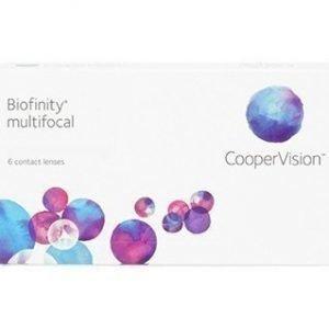 Biofinity Multifocal 6/pkt Piilolinssit