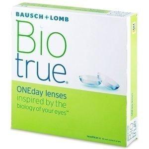 Biotrue ONEday 90kpl Kertakäyttölinssit