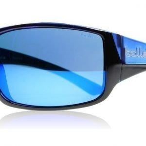 Bolle Tigersnake 11928 Musta-matta sininen Aurinkolasit