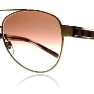 Burberry 3084 105213 Kulta-pinkki kilpikonna Aurinkolasit