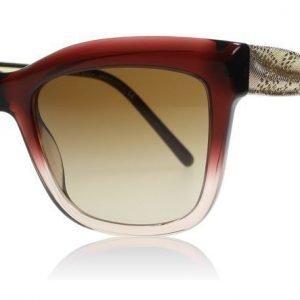 Burberry 4207 355313 Viininpunainen liukuvärjätty Aurinkolasit