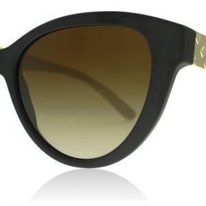 Burberry 4220 3464T5 Matta musta Aurinkolasit