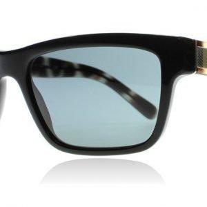 Burberry 4225 3001-87 Musta-kuvioitu Aurinkolasit