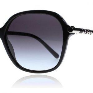 Burberry 4228 30018G musta hopea Aurinkolasit