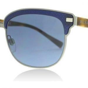 Burberry 4232 361880 Harjattu asemetalli-matta sininen-kilpikonna Aurinkolasit