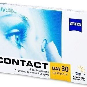 Carl Zeiss Contact Day 30 Spheric 6kpl Kuukausilinssit