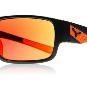 Cebe Whisper Matta musta-oranssi Aurinkolasit