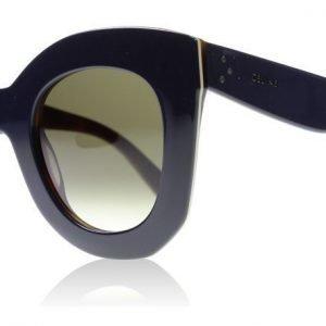 Celine Marta 41093S 273Z3 Sininen-kilpikonna Aurinkolasit