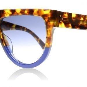 Celine Shadow 41026 FU9DV Kilpikonna-sininen Aurinkolasit